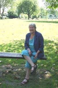 Cllr Jane Pickard in Tivoli Park