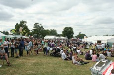 Enjoying the Country Show in Brockwell Park