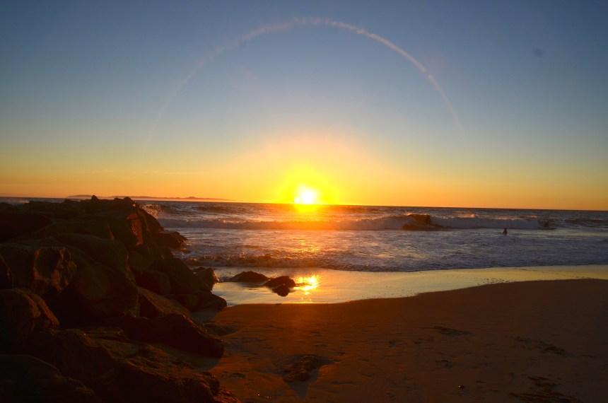 Newport Beach Balboa Peninsula sunset