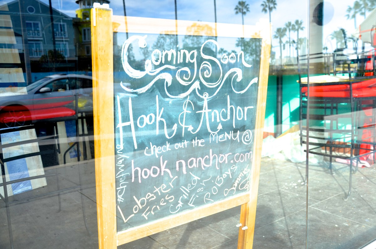 New Restaurant Hook & Anchor to Set Sail in Beach Barrel Location
