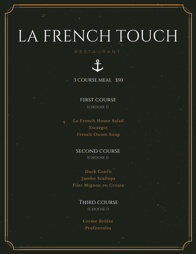 La French Touch Newport Beach