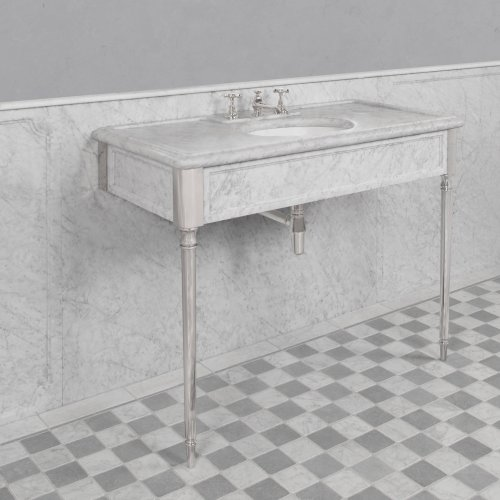 edwardian marble console console