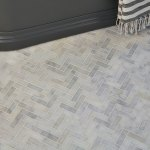Long Island Marble Herringbone Mosaic Wall And Floor Coverings Tiles