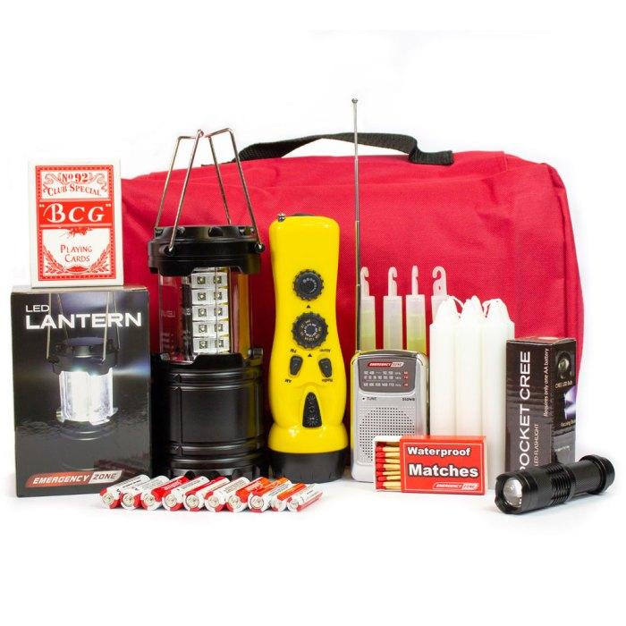 EZ Premium Power Outage Emergency Kit