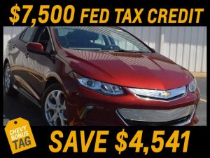 2017 Volt Sale at Westphal Chevy
