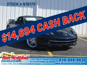 Veterans Day Corvette Bonus Cash Back Ron Westphal Chevy Aurora IL