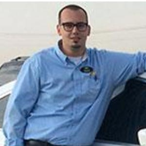 Shaun Nichols, salesperson at Ron Westphal Chevrolet in Aurora, IL.