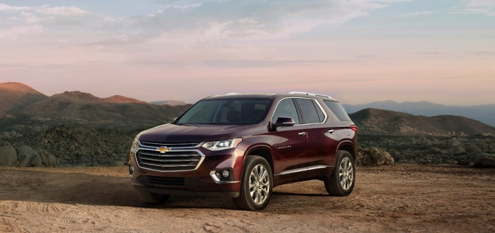 2018 Chevrolet Traverse Priced