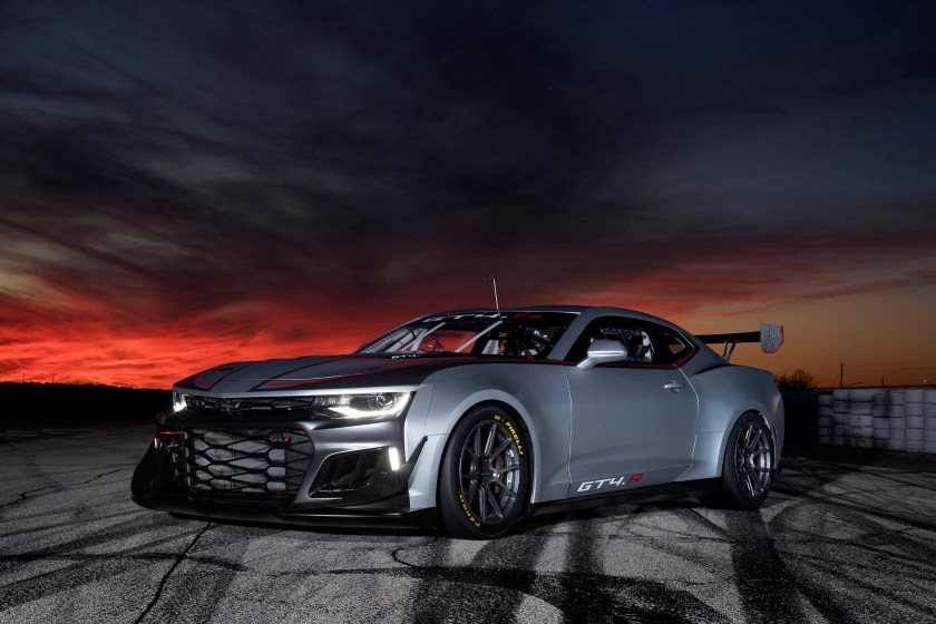 Chevrolet Camaro GT4.R now available to the general public