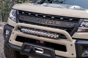 zr2 aev concept front grille unveiled at Sema