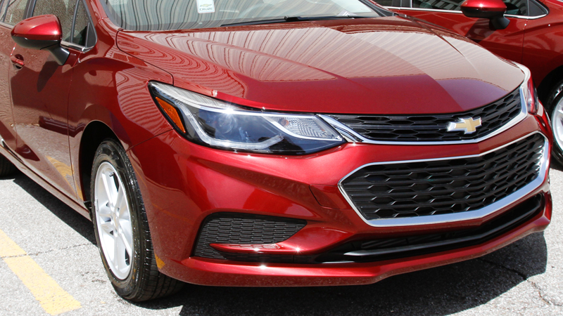 January Cruze sales down 45 percent