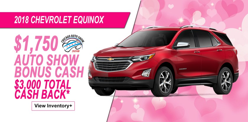 2018 Chevrolet Equinox Auto Show Savings