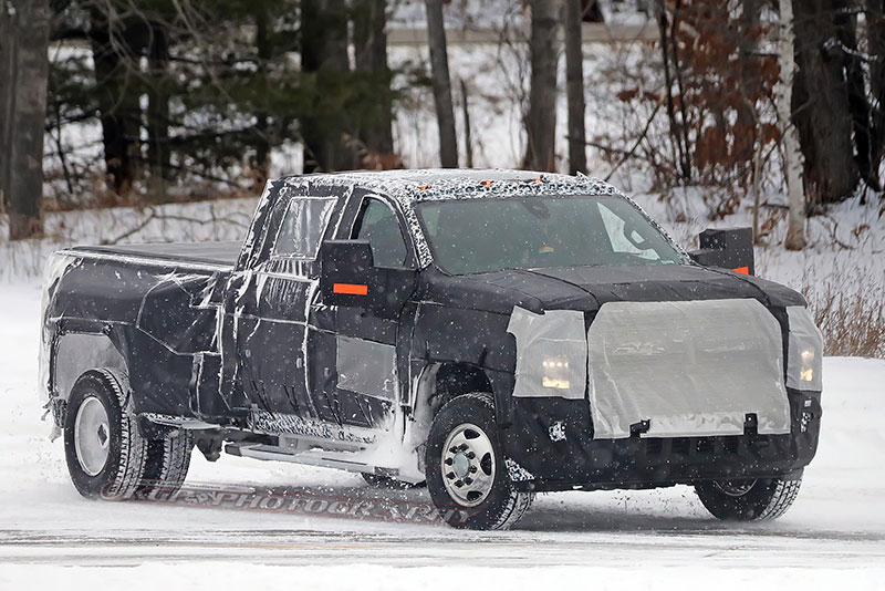 silverado 2500hd and 3500hd spy shots