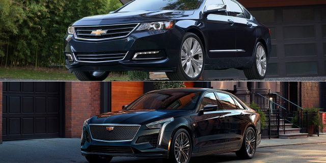 Chevrolet Impala and Cadillac CT6