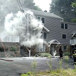 Electrical Fire Extinguished at Compo Road South Home Before Spreading Inside