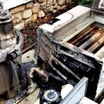 Firefighters Quickly Douse Pool Heater Fire on Ludlow Road