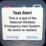 2:20 P.M. Today: Expect Phones to Get 'TEST' Emergency Alerts