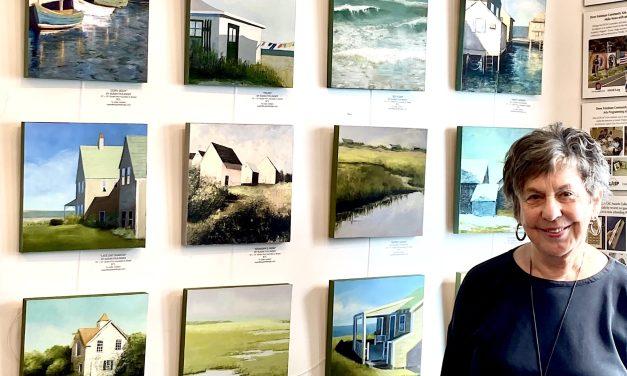Paintings of Coastal Scenes Showcased at Westport Book Shop