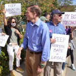 Blumenthal Joins Saturday's Abortion Rights Protest