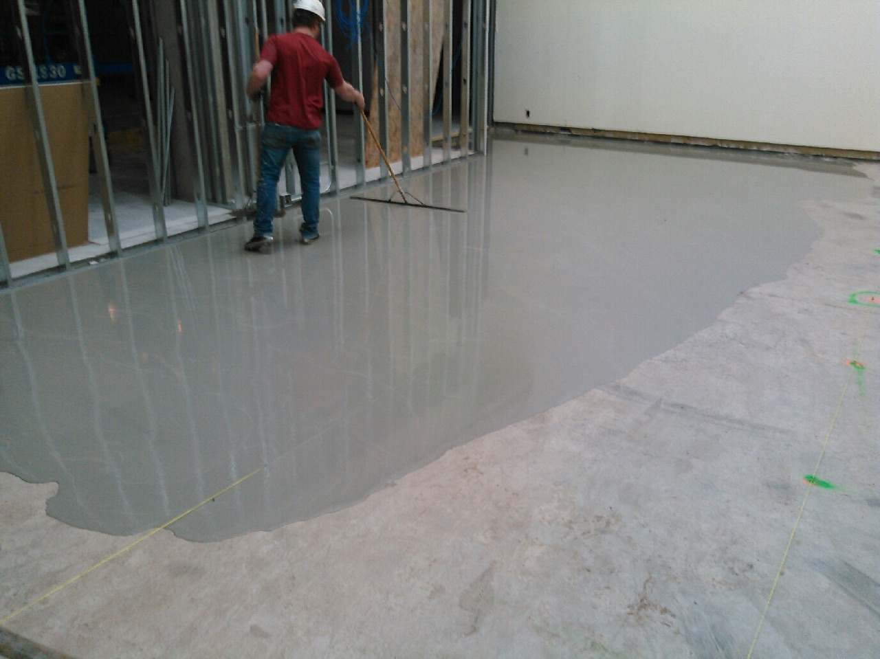 Self Leveling Floor Underlayment Cement  Carpet Vidalondon