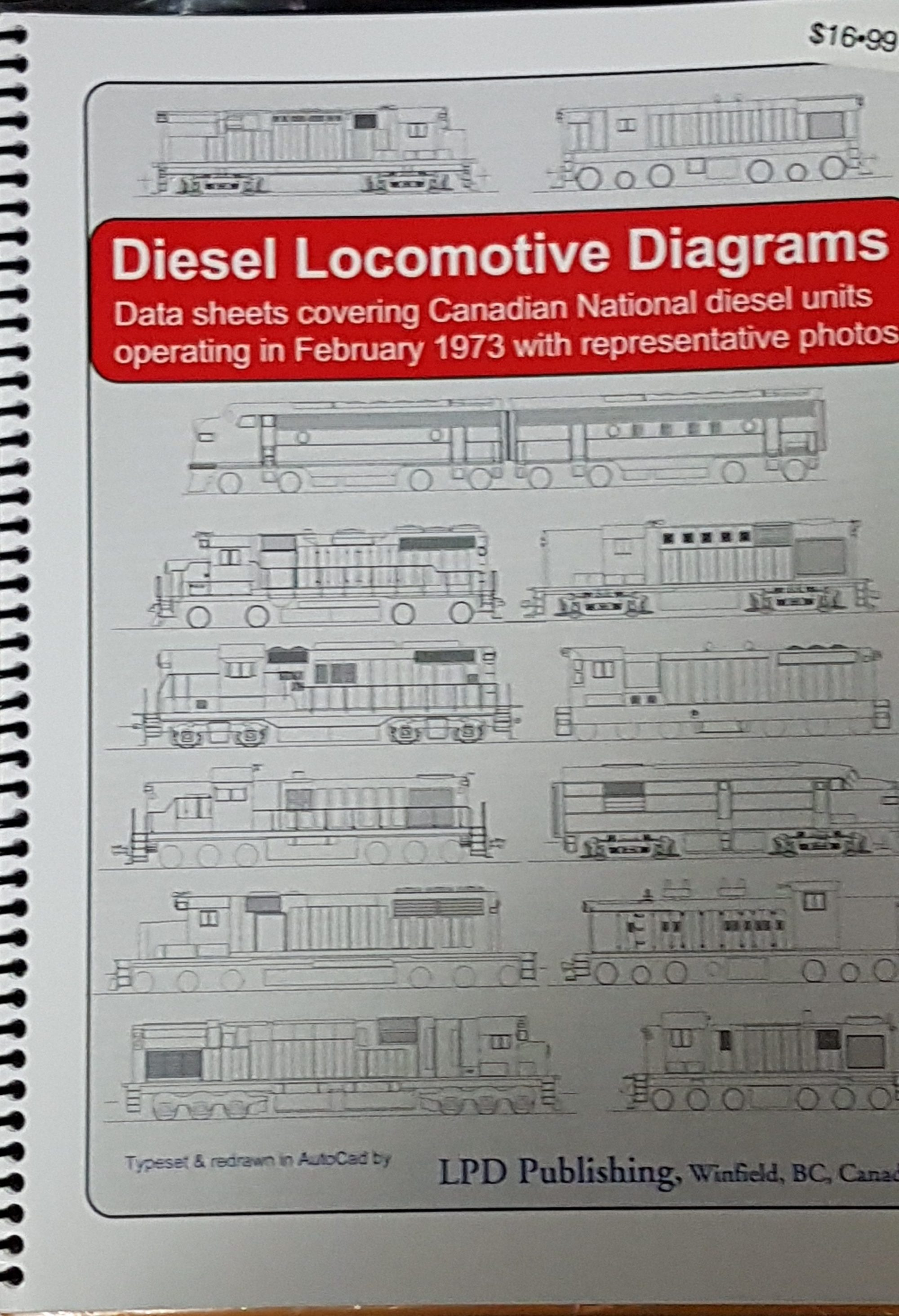 hight resolution of diesel locomotive diagrams