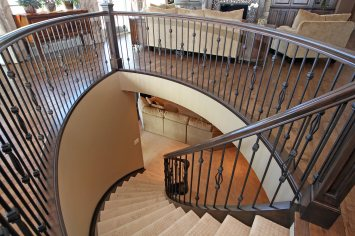 Bieber staircase Living Space