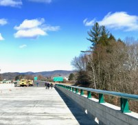 Walk across I-91 Bridge March 2017 - 6