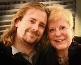 David and his mom, Sue