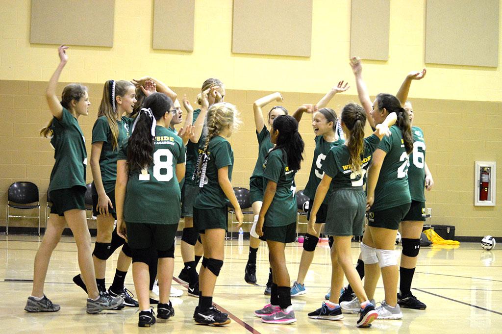 Girls 5th - 8th grade Volleyball Team