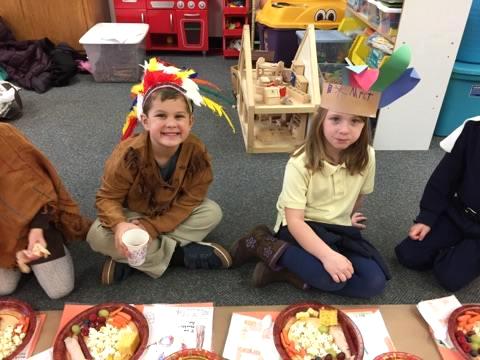 Kindergarten Pilgrams & Indians