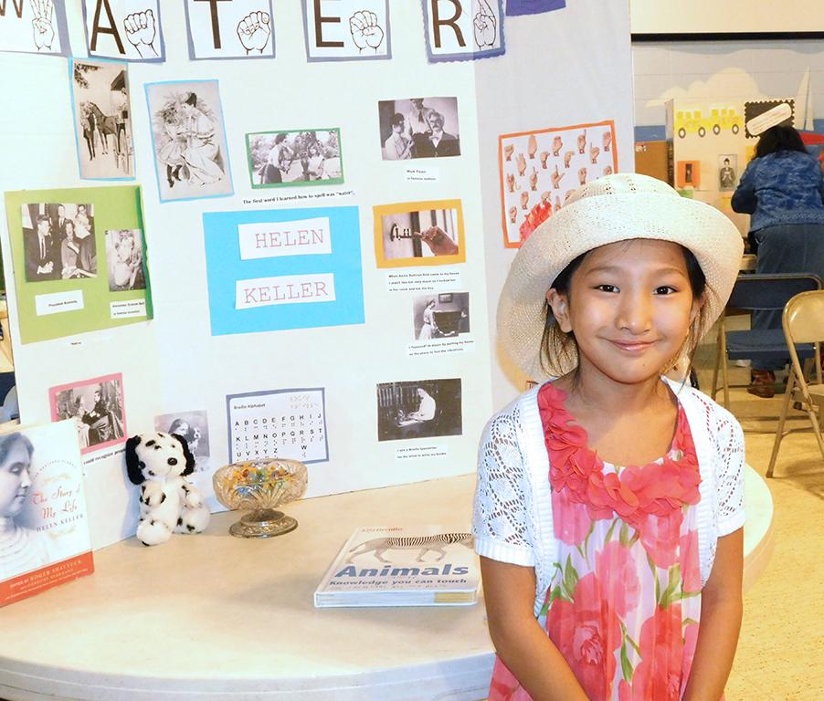 3rd Grade Wax Museum - Helen Keller