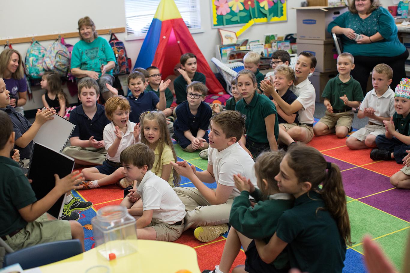 Kindergarten/5th Grade Reading Buddies