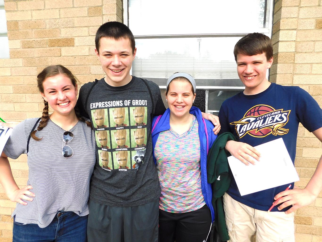 High School Physics Class off to Cedar Point
