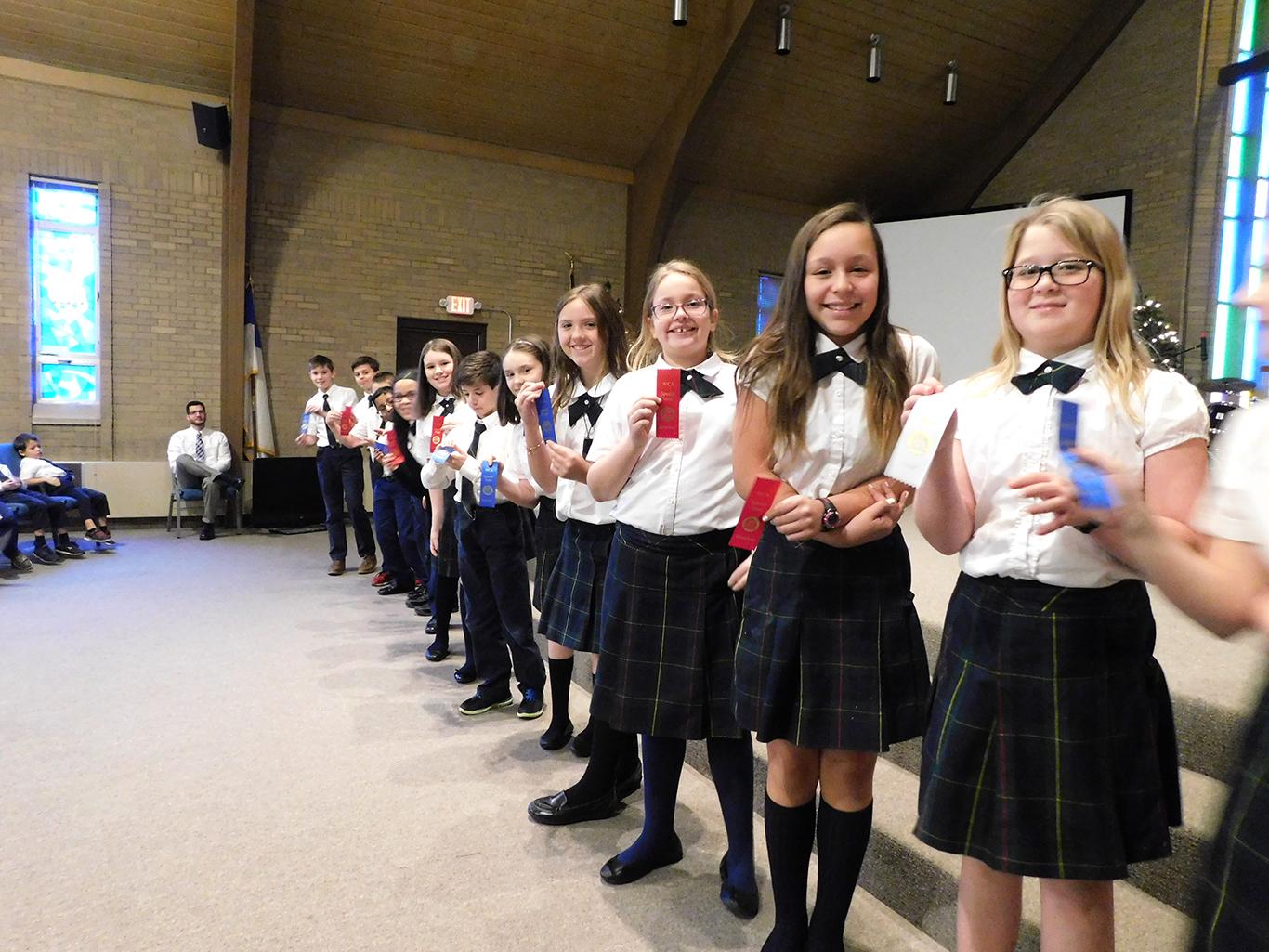 Grammar School Speech Meet Awards