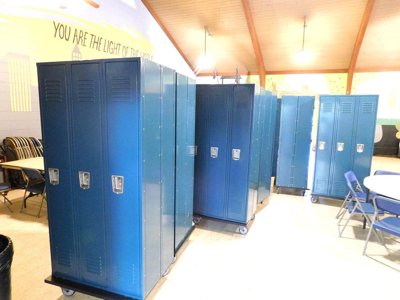 High School Lockers Arrive!