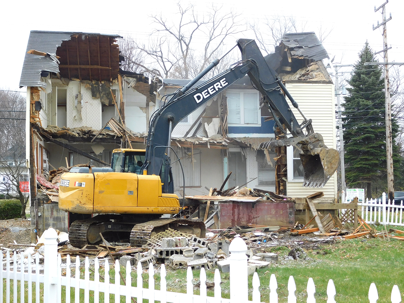 Parsonage House Removal