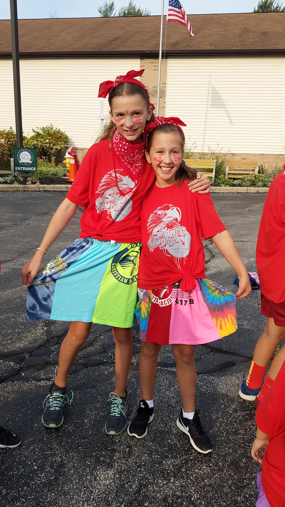 Field Day - Check out their Skirts!