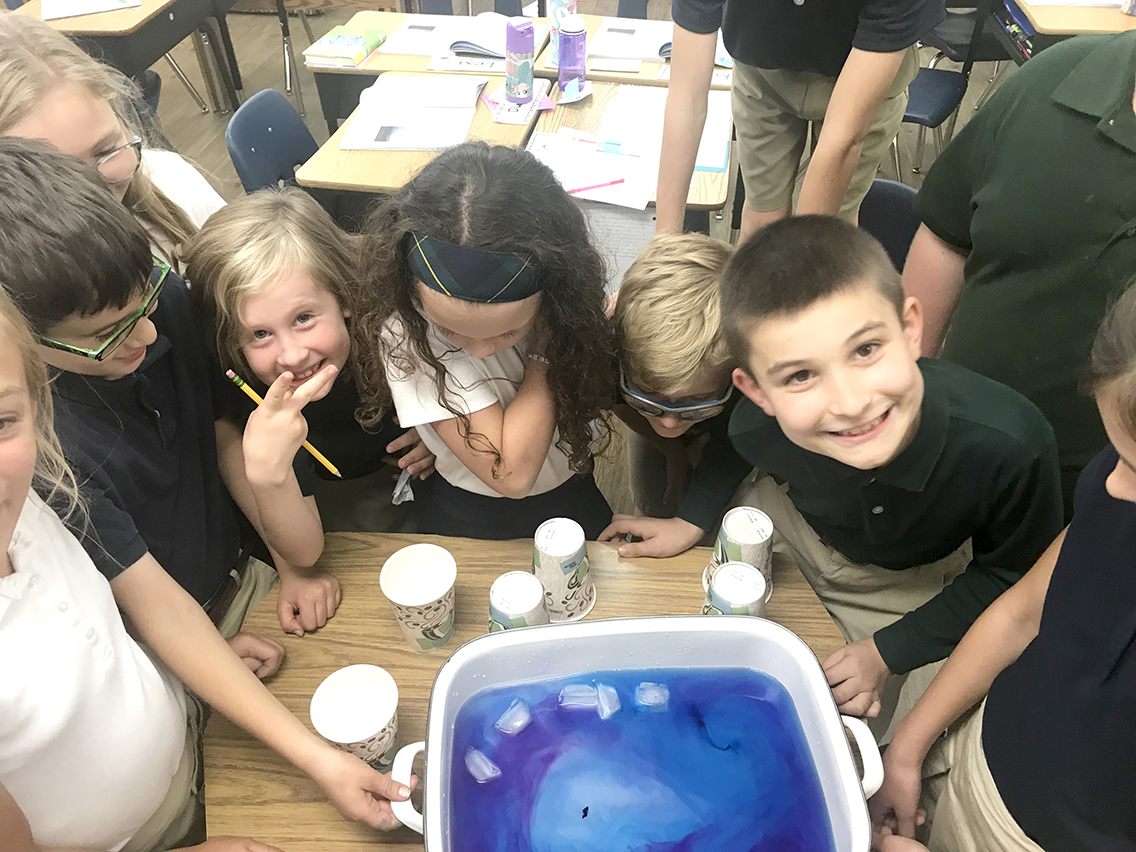 Fourth Grade Science Experiment