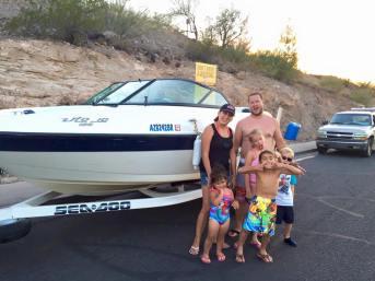 rental boats lake pleasant az