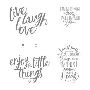 Layering Love Stamp Set