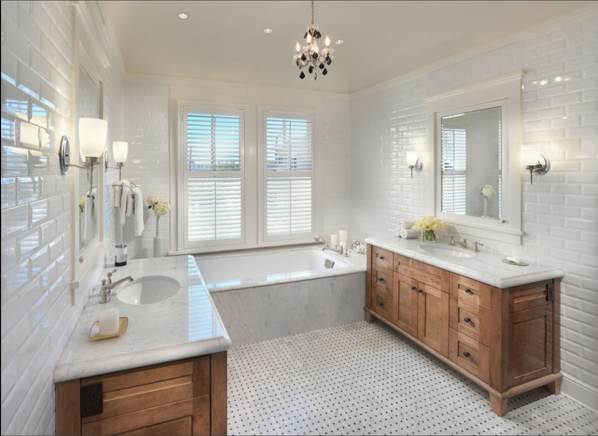 Subway Tile Bathroom Beveled Tile Beveled Subway Tile Westside Tile And Stone
