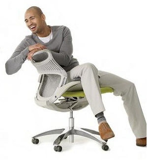 office chair leaning to one side cheap dining table and chairs body language common gestures seen regularly informally over