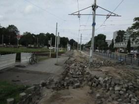 Ein Weiterer Blick Lehmangerkreuzung in Richtung Donauknoten