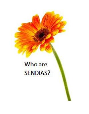 SENDIAS Flower with words 'Who Is SENDIAS'?