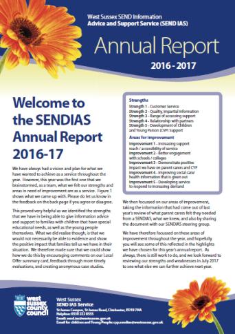 SENDIAS Report 2016-17