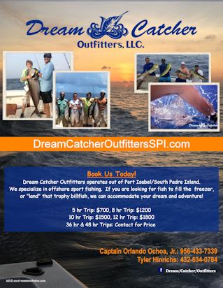 dream catcher outfitters flyer