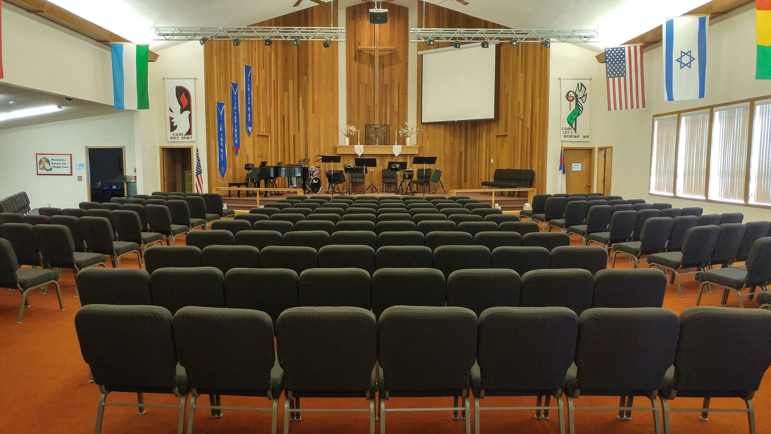 Sanctuary New Chairs  West Valley Missionary Church