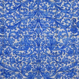 Perry and Bleecker streets - Blue Tile Detail