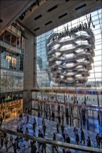The Shops and Restaurants at Hudson Yards with over 100 shops and 25 restaurants on 7 levels and New York City's first Neiman Marcus.
