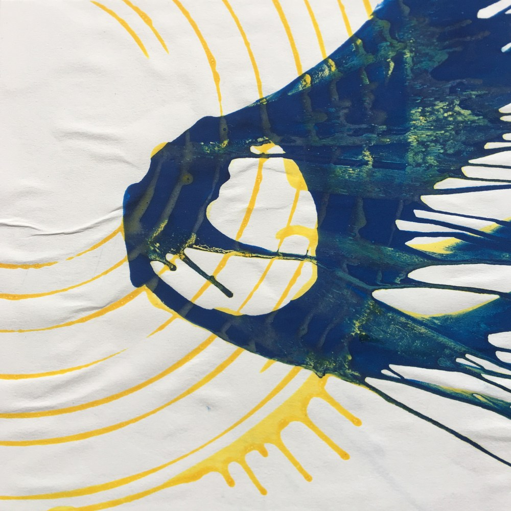 Blue and Yellow | Tempera on Paper